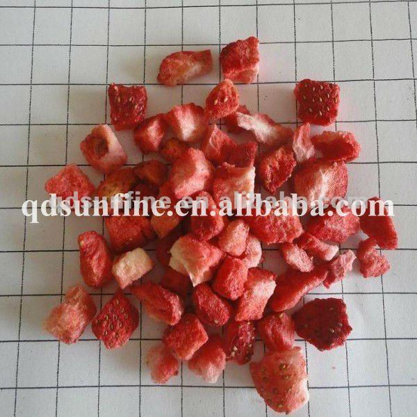 frozen fruit strawberry diced dry fruit