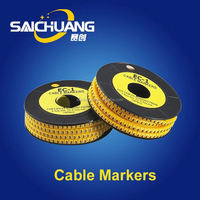 Selected Material all kinds of pvc electrical tube marker/cable marker/wire marker tube