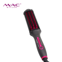 <strong>Best</strong> <strong>Hair</strong> <strong>Straightener</strong> Brush Fashion Purple Electric <strong>Hair</strong> <strong>Straightener</strong> With Comb Teeth Wholesale
