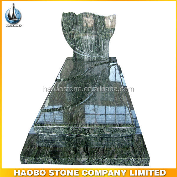 Haobo Green Granite/Marble European Tombstone