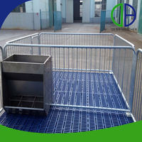 China Supplier Hot Dip Galvanized Pig Cages Pig Feeding Equipment