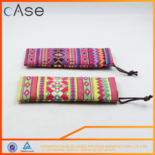 Wholesale new style Good reputation High quality microfiber sunglasses pouch