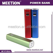 3 in1 selfie power bank 2600mah charging & torch & taking picture functions together power bank