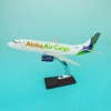 AAC B737-300 resin model passenger aircraft 1/100 34cm