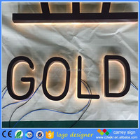 alibaba sign up request letter for decotations/doors front alphabet letter