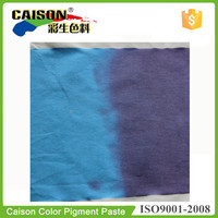 Navy Blue to Blue Thermochromic pigment color paste for textile printing