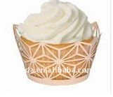 22013 laser cut stars christmas decoration cupcake wrapper