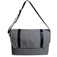 Lightweight men shoulder messenger bag waterproof laptop bag