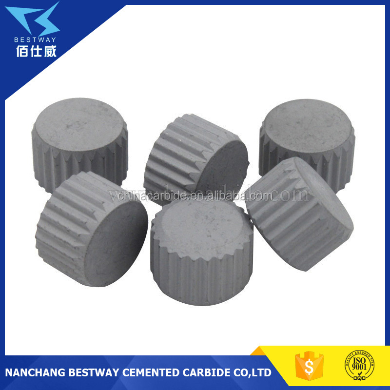 Tungsten Carbide Flattop Buttons for Oil Field