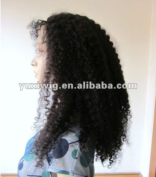 factory bott price good quality kinky curly synthetic wig