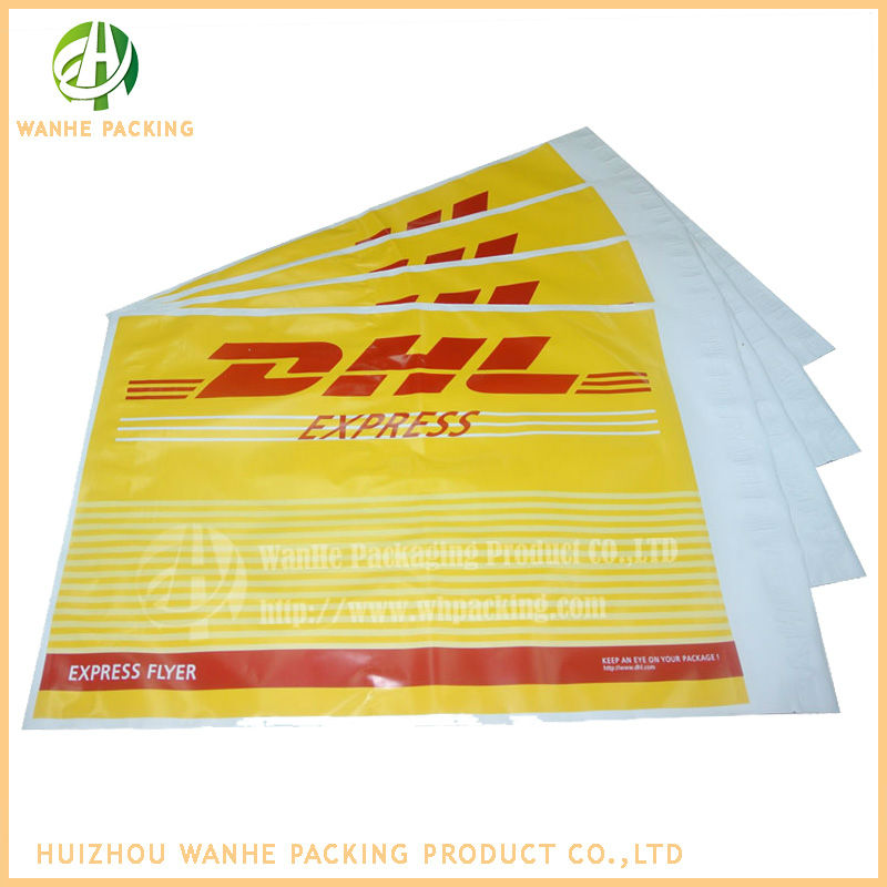 co extruded polyethylene plastic dhl mail bag