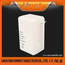 2014 hot sale wifi 500Mbps Wall mount PLC AV Adapter 500Mbps Power Line Communication