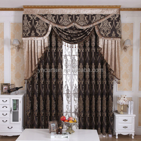 latest curtain fashion designs electric curtain motor curtain