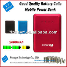 The Thinnest Famous Brand Mobile power bank for samsung galaxy note