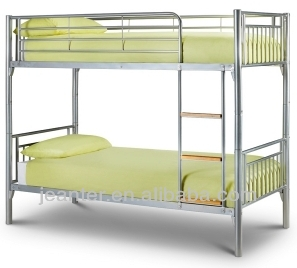 Bunk bed School Army used easy assembly heavy duty steel metal double bunk bed with parts