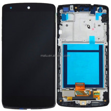 Hot 100% tested For LG Google Nexus 5 D820 D821 LCD Display Touch Screen Digitizer Assembly + Frame Replacement Parts