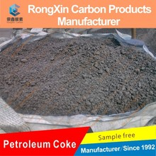 fixed carbon 86% metallurgical coke raw petroleum coke green coke manufacture price