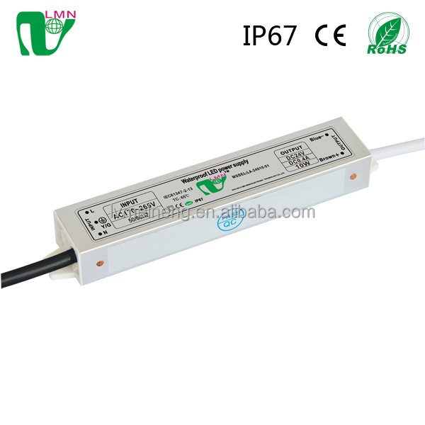 Sell abroad 24V waterproof constant current 30w dimmable led driver