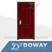 Waterproof bedroom wooden door unique interior doors on sale