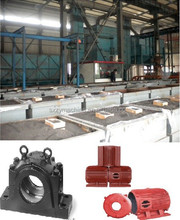 vacuum lost foam casting machinery to produce bearing housing, mothor casting and wheel hub