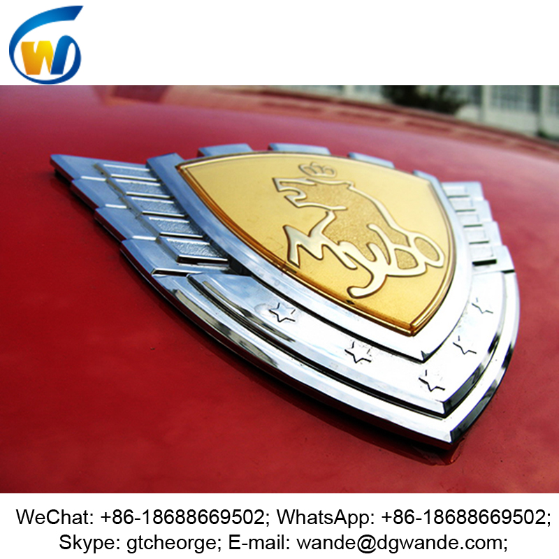high quality cheap price new style custom design car grill badges, car decal, car body side sticker design