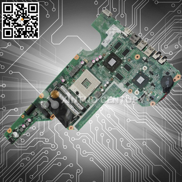 Warranty 45 day Laptop motherboard For HP 680569-001 G6-2000 I3 non- integration tested ok