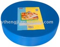 PE Layered round chopping block plastic in any dimension