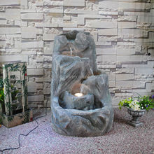 Resin Contemporary Artificial Stone Outdoor Water Fountains