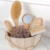 Promotional shower tools comfortable wooden bathroom bath spa gift set