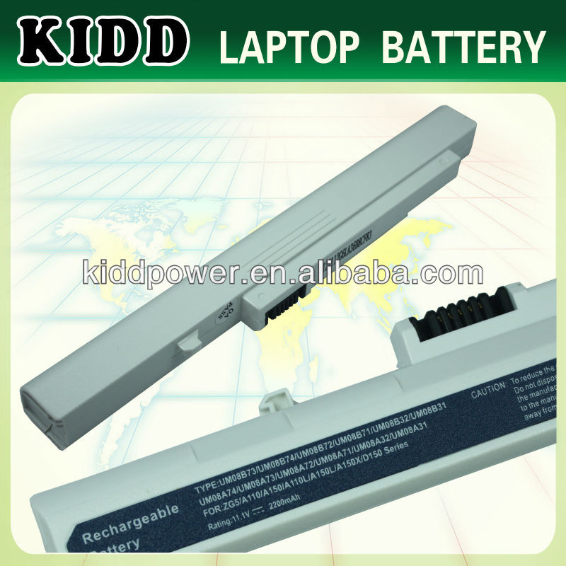 New Original Notebooks Battery For Acer Aspire one ZG5 UM08A74 UM08B74