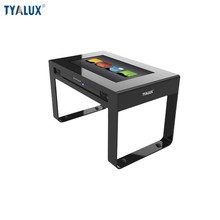 HD floor stand wifi 55 inch LCD AD media touch screen android PC table