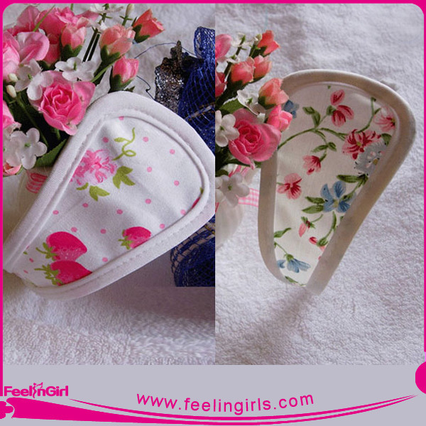 Wholesale Printed Beautiful Flowers Girl Sexy Cute C-string