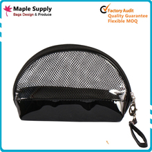 Wholesale women small waterproof clear pvc cosmetic bag for travel