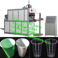 plastic cup production line/plastic cup maker/jelly cup making machine