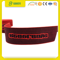 Custom Jacquard Logo Elastic Band 20mm for boxing gloves and men's underwear