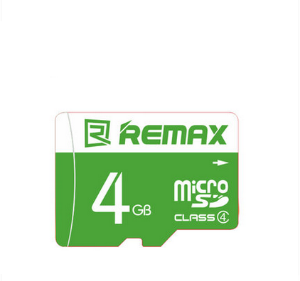 2017 Best Selling TF Storage Mobile Micro 4GB Remax Memory Card