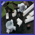white PVC electrical conduit/plastic conduit 16-50mm with competitive price