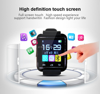 Smart watch,blue tooth connect with mobile phone smart wrist watch Multilingual D18