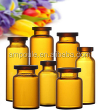 1-20ml amber tubular glass vials