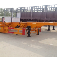 3 Axle 20ft 40ft Container Transport