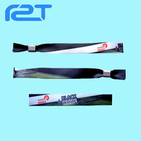 Polyester Slide Lock Cloth Wristband Activity