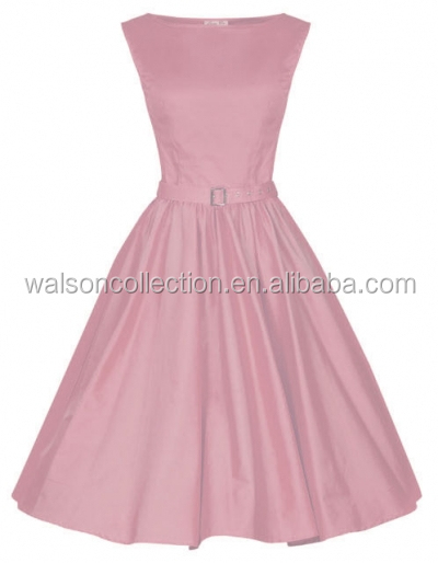 women's clothing vintage Girl dress pink rockabilly dresses used clothing plu size 6XL