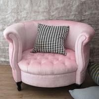 Modern living relax furniture round shape sofa