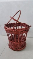 high quality bamboo rattan market storage basket