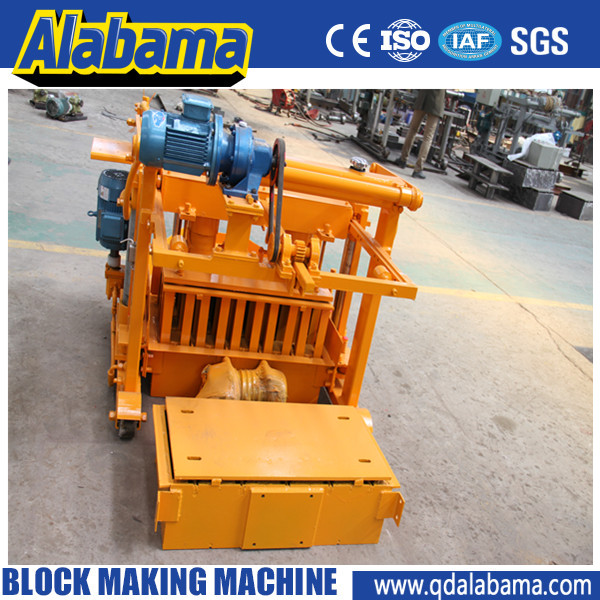 Large pressure light weight flyash brick making machine