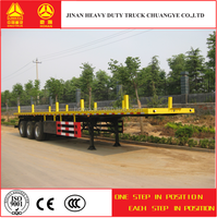 China Manufacturer Tri Axle Container Transport