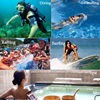 Outdoor swimming portable PVC Transparent Phone Case Waterproof Bag