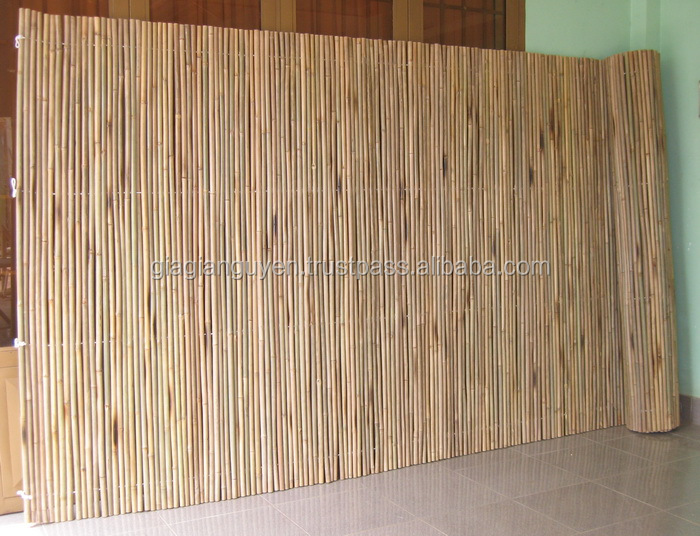 Vietnam natural BAMBOO FENCE ROLLING_VERY CHEAP: candy@gianguyencraft.com (MS CANDY)