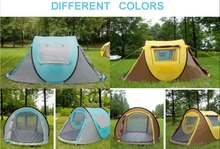 HOT SALES outdor camping one touch waterproof high quality family pop up tent one touch tent