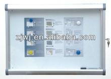 Lockable aluminum frame safety glass key cabinet from Jiangyin